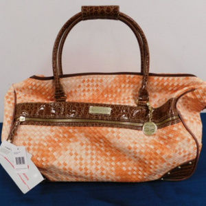 Samantha Brown Wheeled Travel Bag NWT